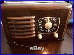 Zenith 1941 6d 525 Restored Vintage Radio