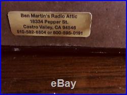 Zenith 1941 Vintage Tube Radio 6d 516