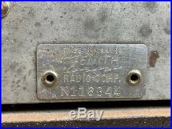 Zenith Model 9-S-30 (9S30) Vintage Tombstone Art Deco Radio (1936)