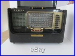 Zenith Wave Magnet Trans Oceanic Radio Model B600 Vintage Antique Tube
