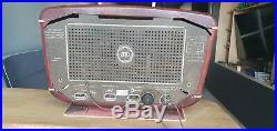 Zvezda 54 Red Star Mid Century Soviet Vintage Tube Radio RARE